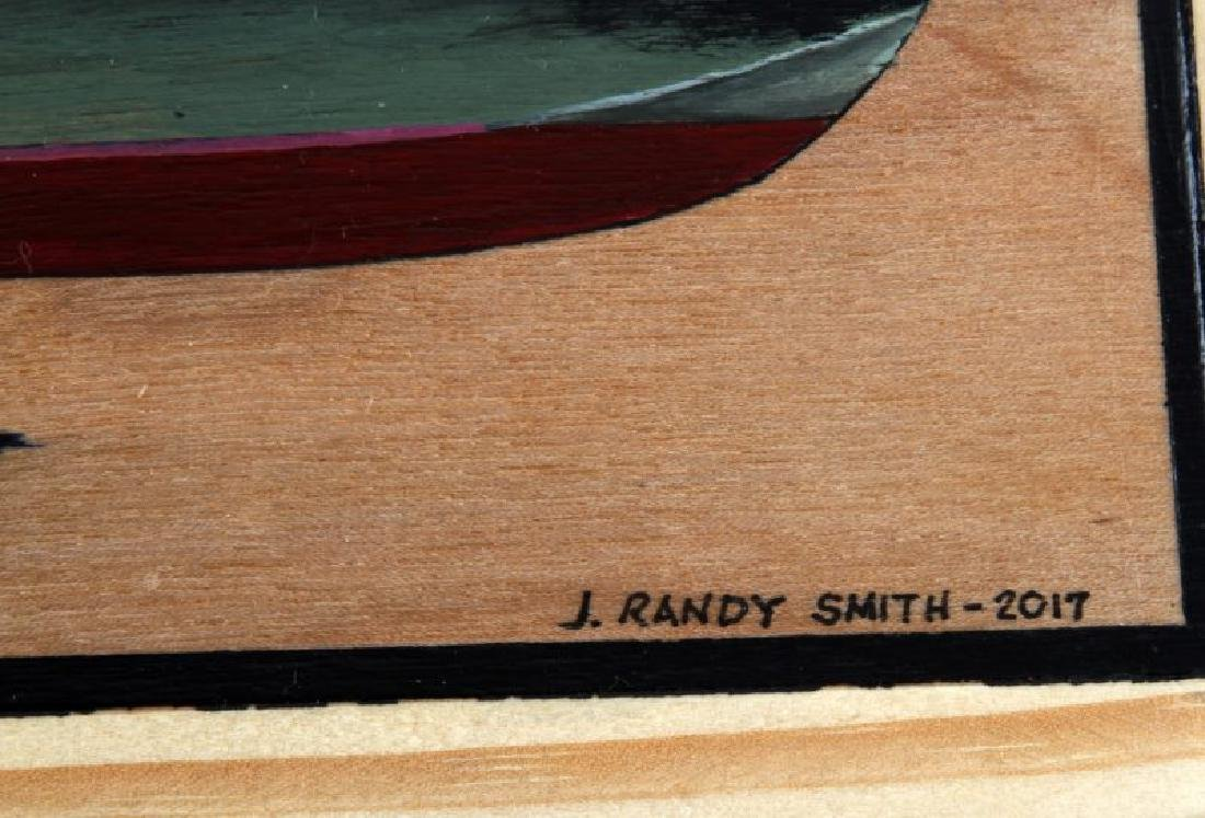 HAND PAINTED WOOD BOX MILITARY COLLECTION PT BOAT