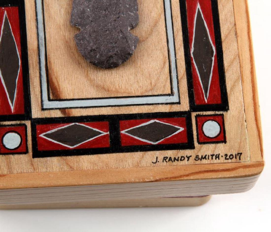 NATIVE AMERICAN COLLECTION WOODEN ARROWPOINT BOX