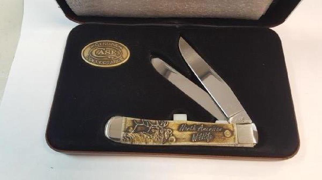 CASE XX NO AMERICAN WILDLIFE SERIES POCKET KNIFE