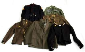 WWII  AFTER WAVE WAC USMC NAVY CAP UNIFORM LOT
