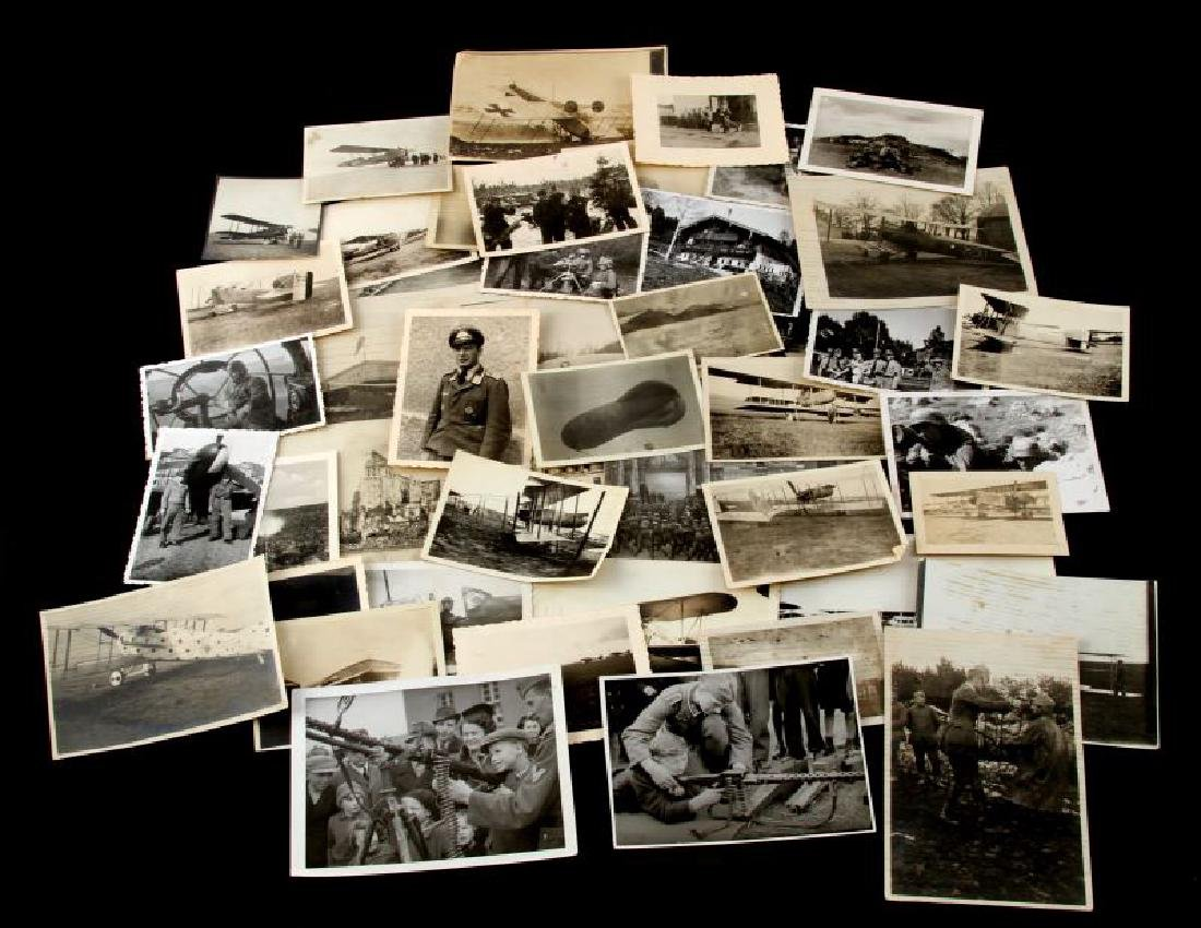 GERMAN WWII THIRD REICH WWI 44 MIXED PHOTOGRAPHS