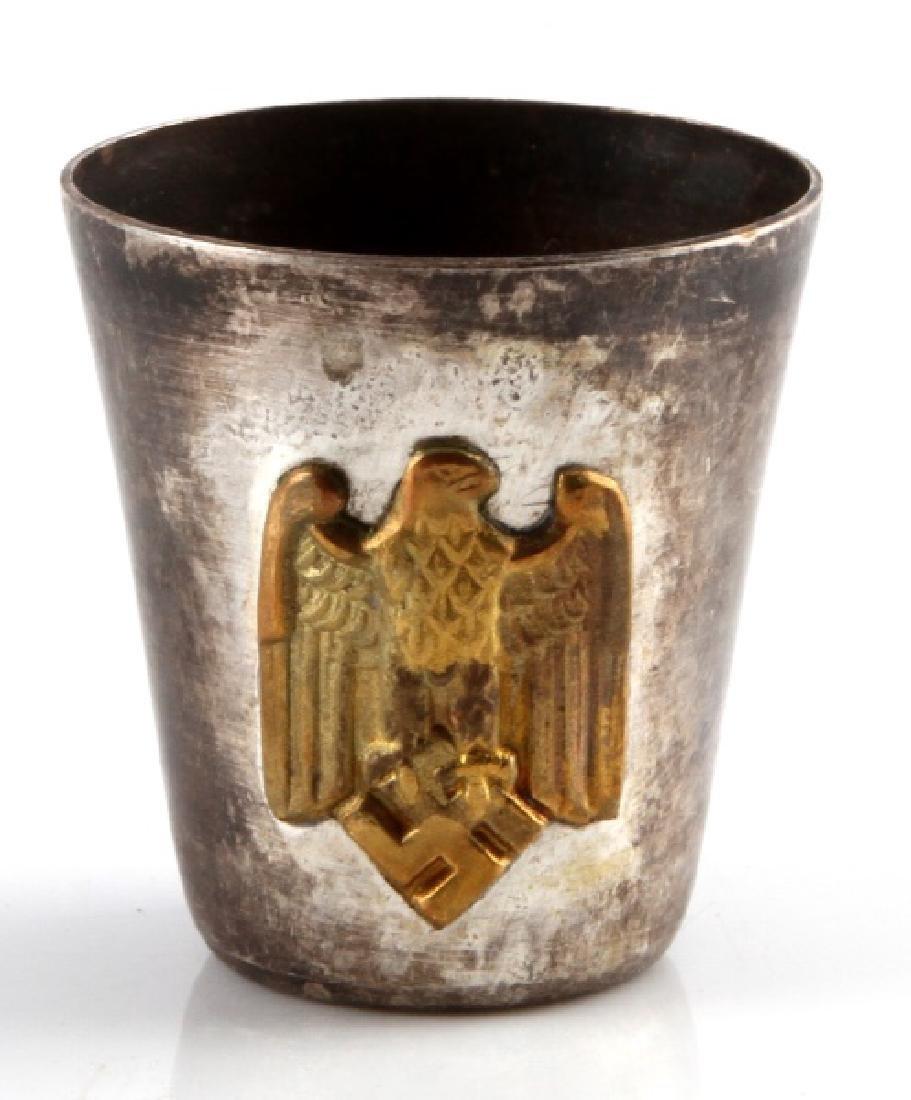 GERMAN WWII ERA 3RD REICH ARMY OFFICER SCHNAPP CUP