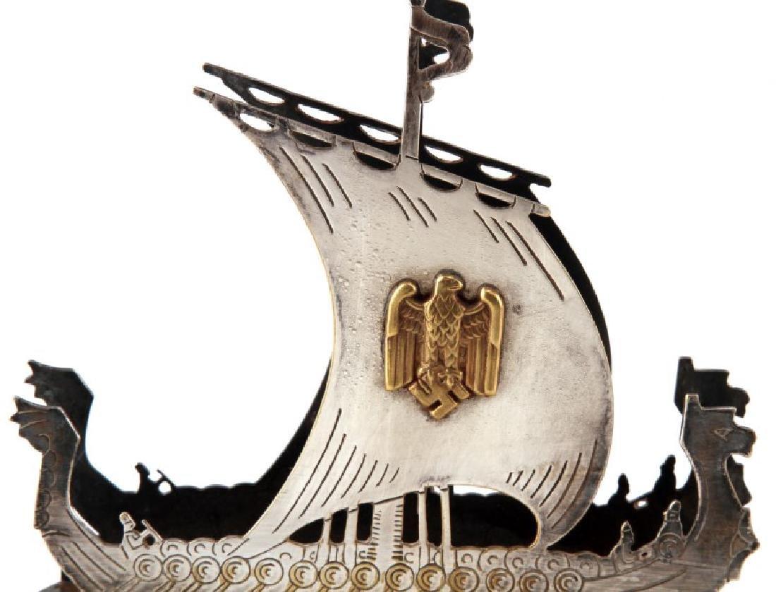 GERMAN WWII HEER METAL NAPKIN HOLDER TRENCH ART