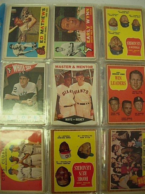 PRE 1961 BASEBALL CARD LOT OF 27 HODGES KLINE