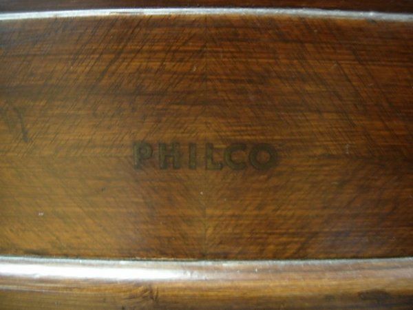 1940 PHILCO ANTIQUE RADIO 40-180     - 2