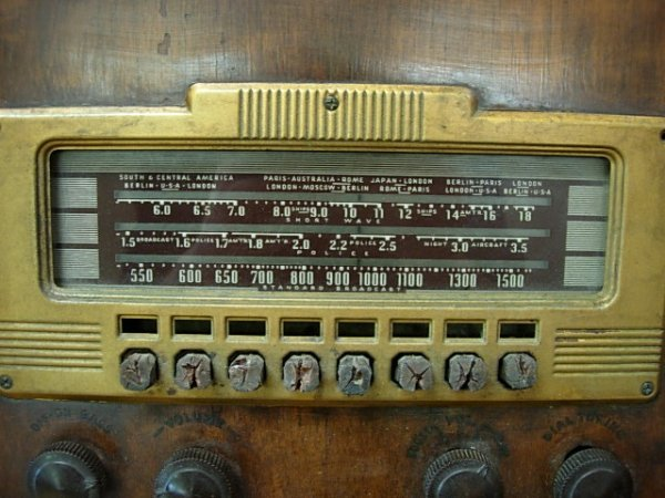 1940 PHILCO ANTIQUE RADIO 40-180     - 3
