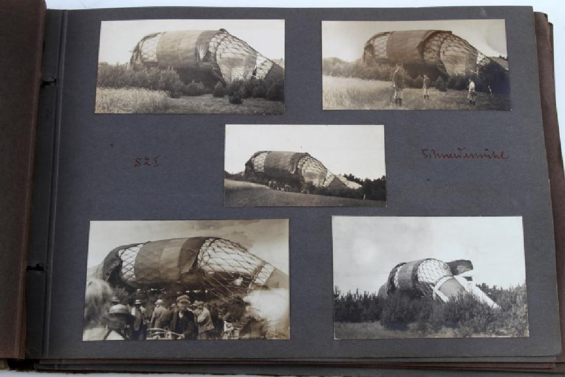 WWI IMPERIAL GERMAN ZEPPELIN PHOTOGRAPH ALBUM - 3