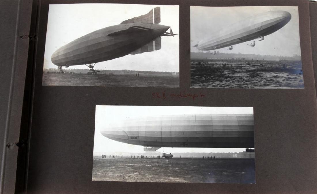 WWI IMPERIAL GERMAN ZEPPELIN PHOTOGRAPH ALBUM - 4