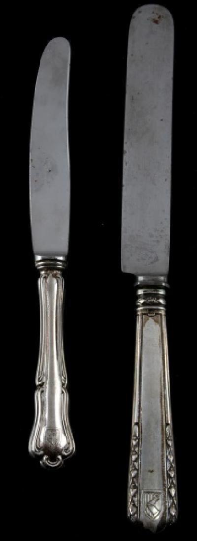 HEINRICH HIMMLER PERSONAL DINNER KNIVES SILVER