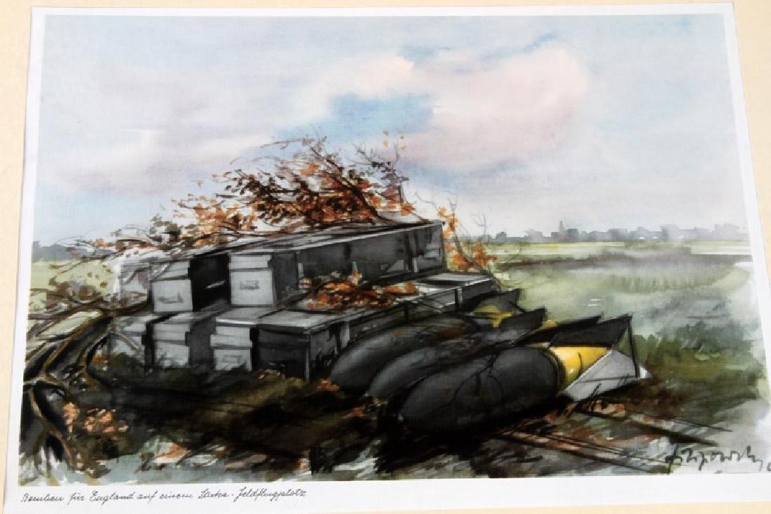 WWII JUNKERS KUNSTBLATTER SUPERB AIRCRAFT PRINTS - 6