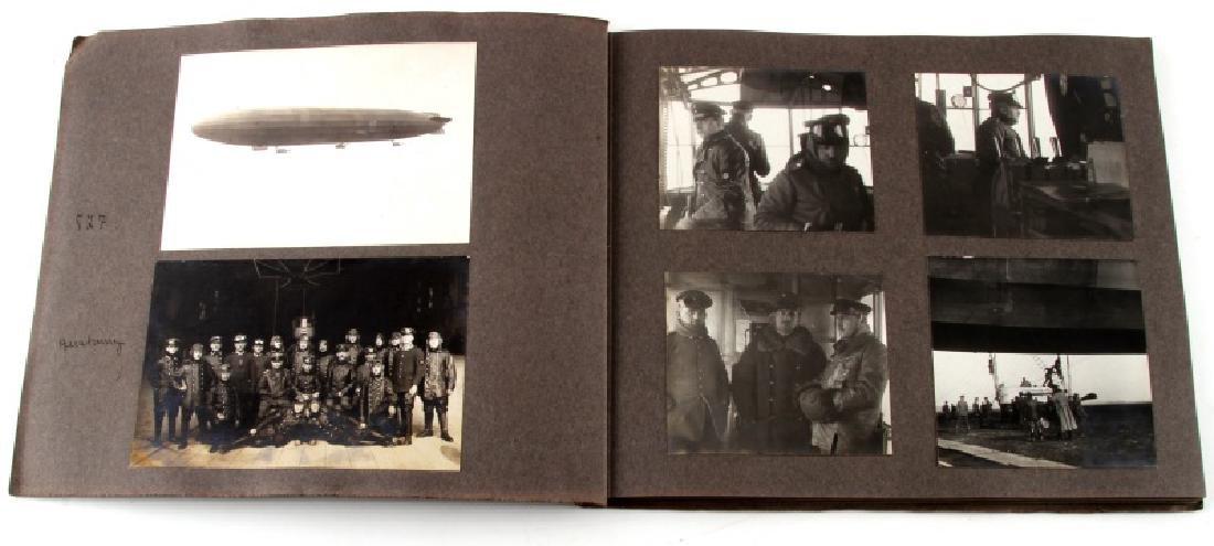 GERMAN EARLY 20TH CENTURY ZEPPELIN PHOTO BOOK - 2