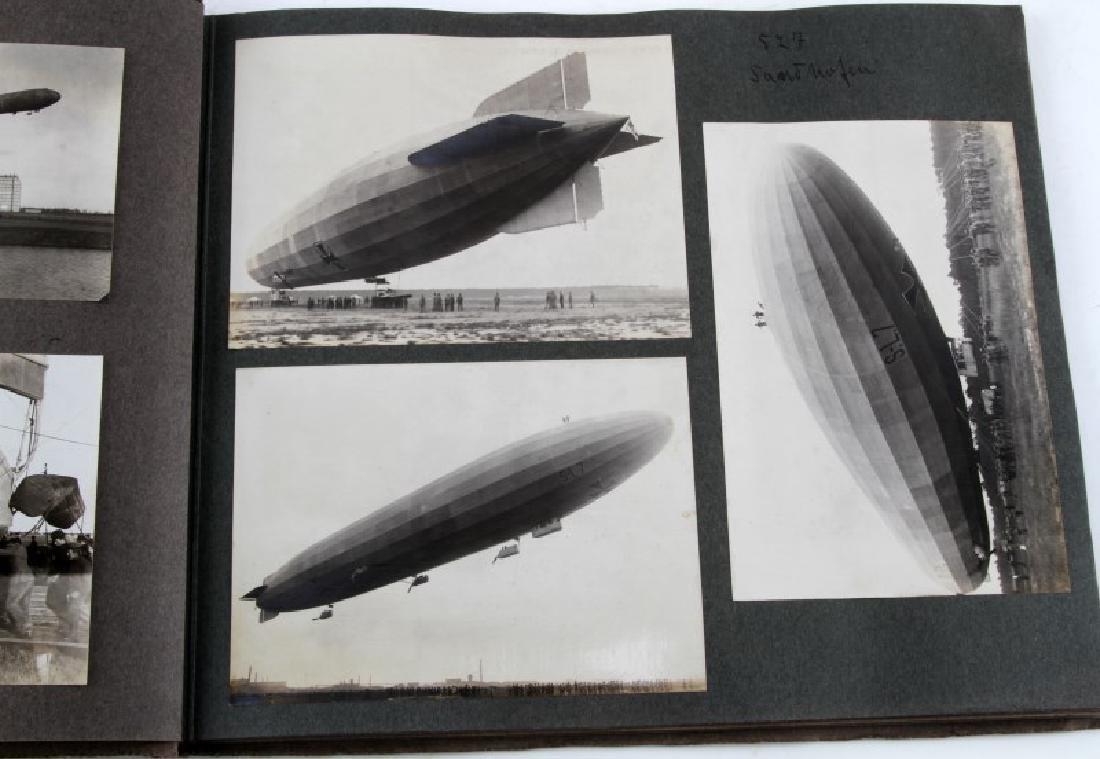 GERMAN EARLY 20TH CENTURY ZEPPELIN PHOTO BOOK - 3