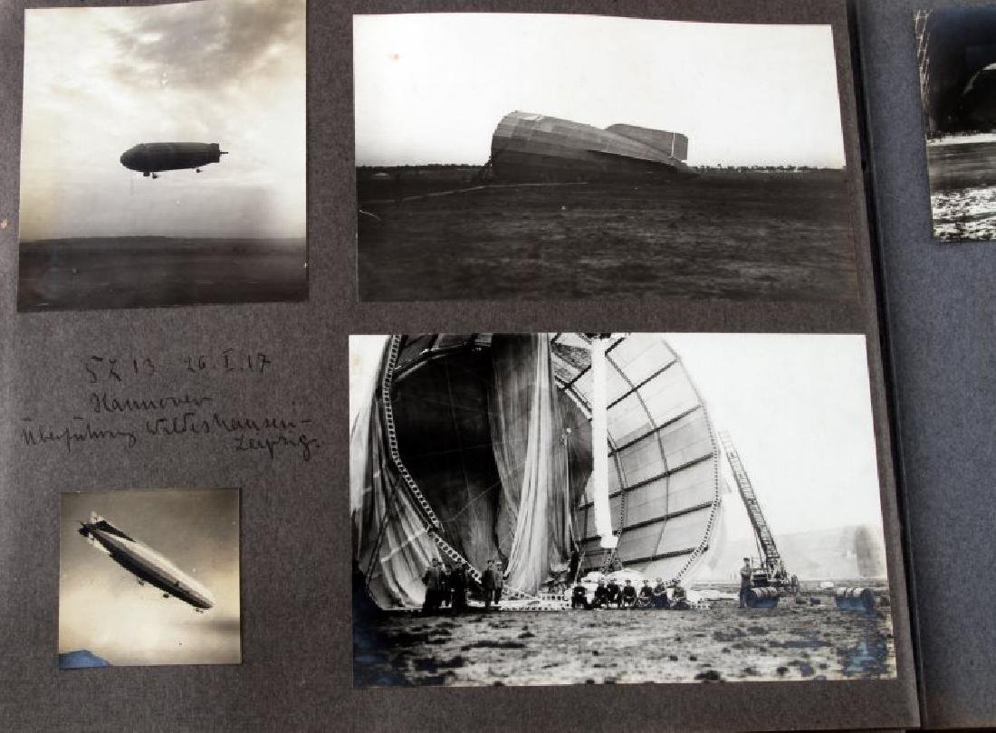 GERMAN EARLY 20TH CENTURY ZEPPELIN PHOTO BOOK - 4