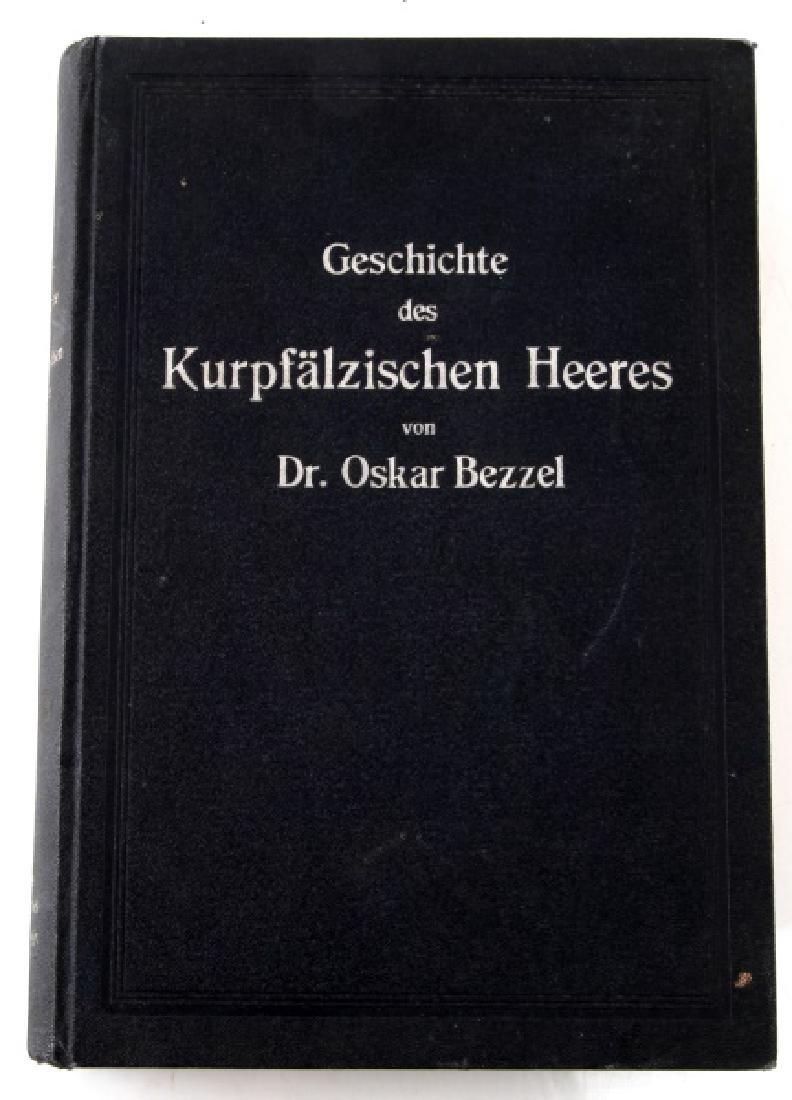 BOOK FROM ADOLF HITLERS LIBRARY OSKAR BEZZEL