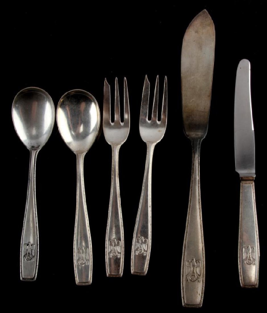 ADOLF HITLER PERSONAL DINNERWARE FROM BERGHOF