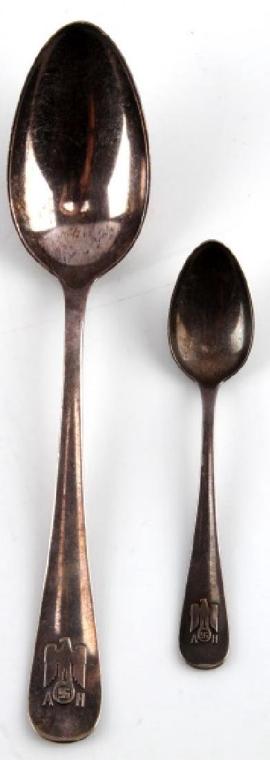 ADOLF HITLER PERSONAL SPOONS FROM BERGHOF