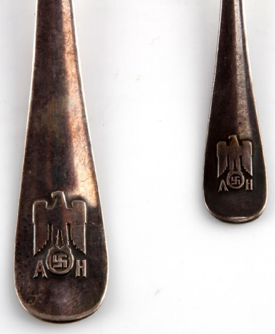 ADOLF HITLER PERSONAL SPOONS FROM BERGHOF - 2
