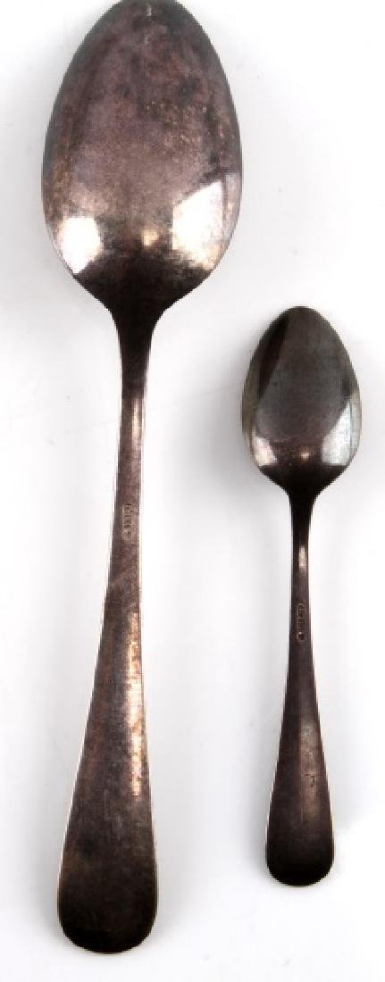 ADOLF HITLER PERSONAL SPOONS FROM BERGHOF - 3