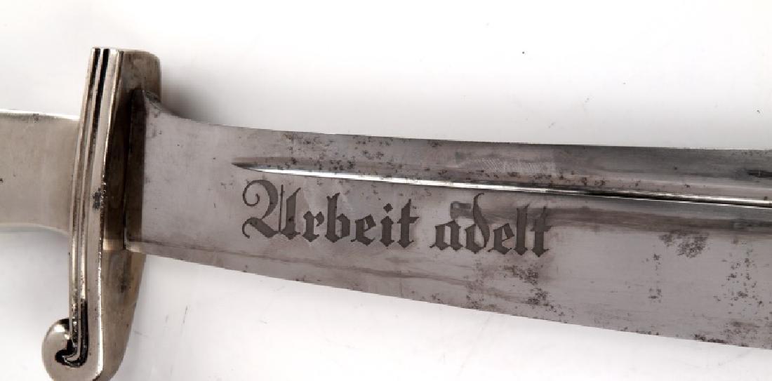 WWII THIRD REICH CARL EICKHORN RAD EM DAGGER - 6