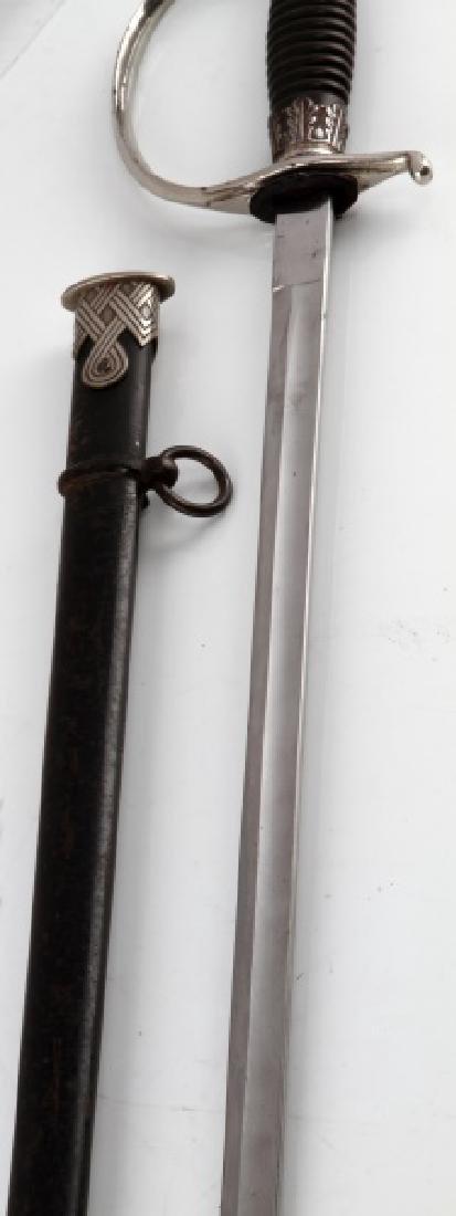 WWII GERMAN THIRD REICH SS CANDIDATE SWORD - 4