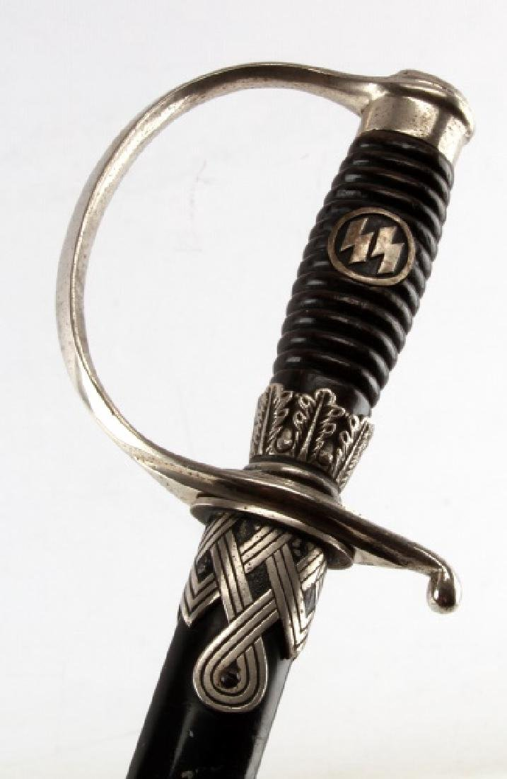 WWII GERMAN THIRD REICH SS OFFICERS SWORD