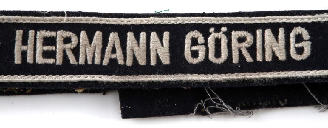 WWII GERMAN LUFTWAFFE HERMANN GORING CUFF TITLE - 2