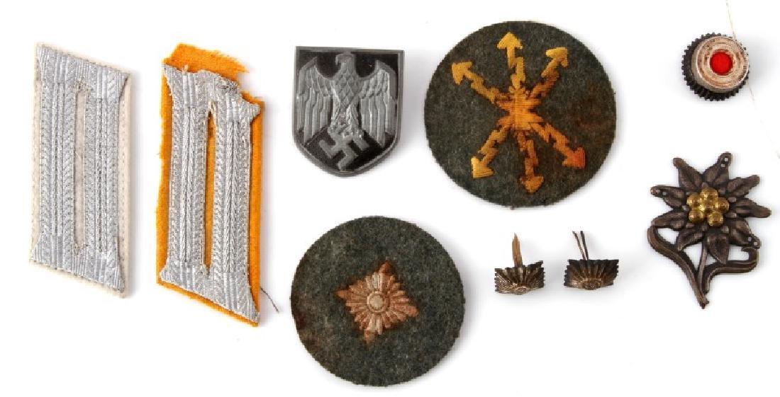 WWII GERMAN 3RD REICH ARMY RADIOMAN INSIGNIA LOT