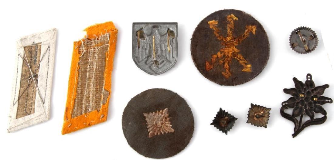 WWII GERMAN 3RD REICH ARMY RADIOMAN INSIGNIA LOT - 2