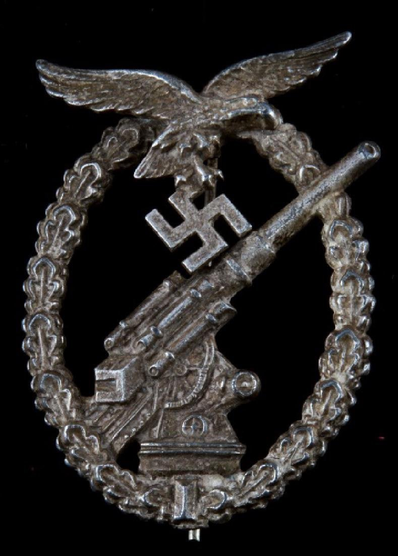 WWII GERMAN LUFTWAFFE FLAK ARTILLERY BADGE