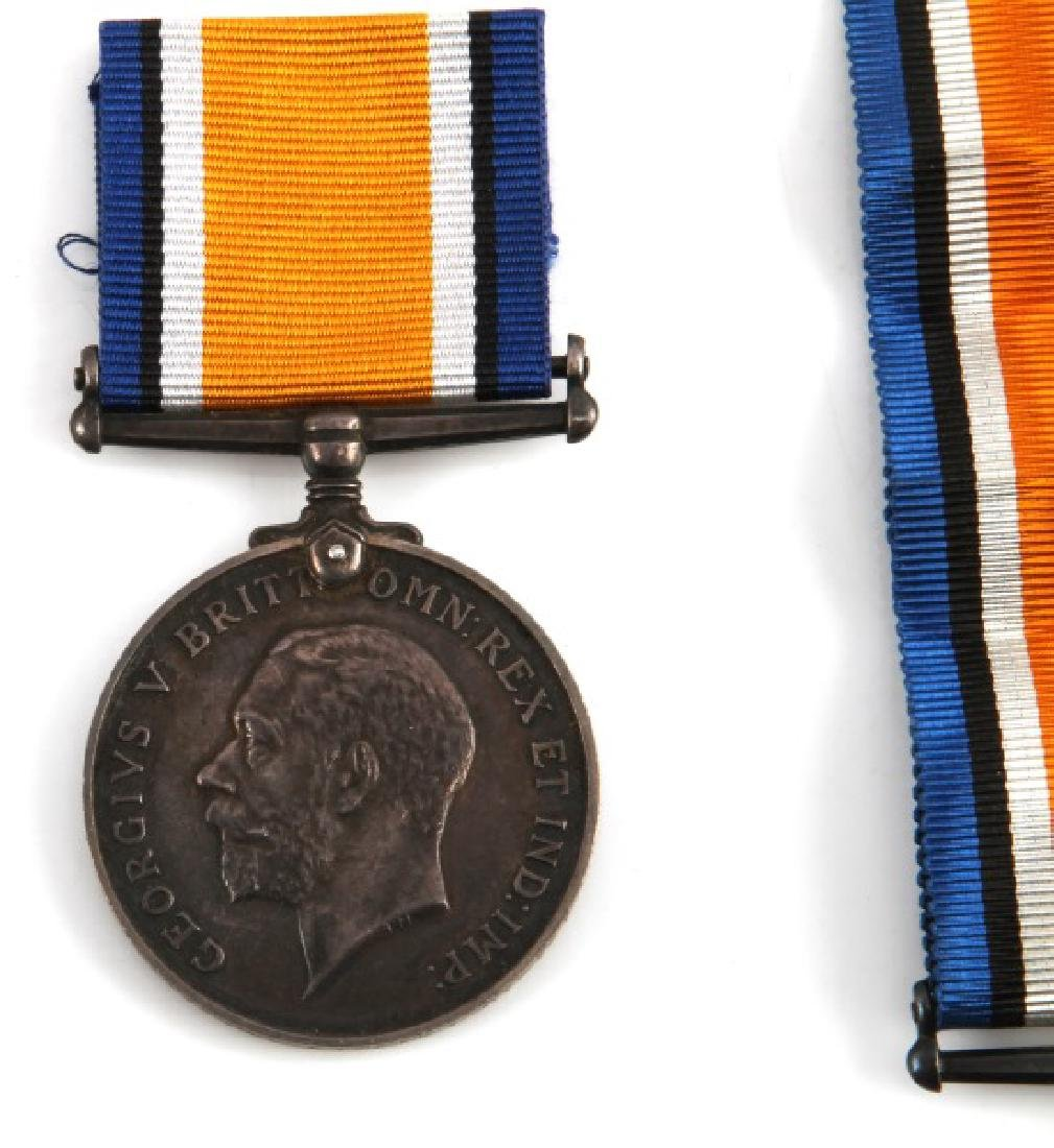 5 WWI BRITISH CANADA NAMED SERVICE MEDALS & 1 WWII - 2