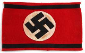 WWII GERMAN 3RD REICH SS OFFICER ARMBAND