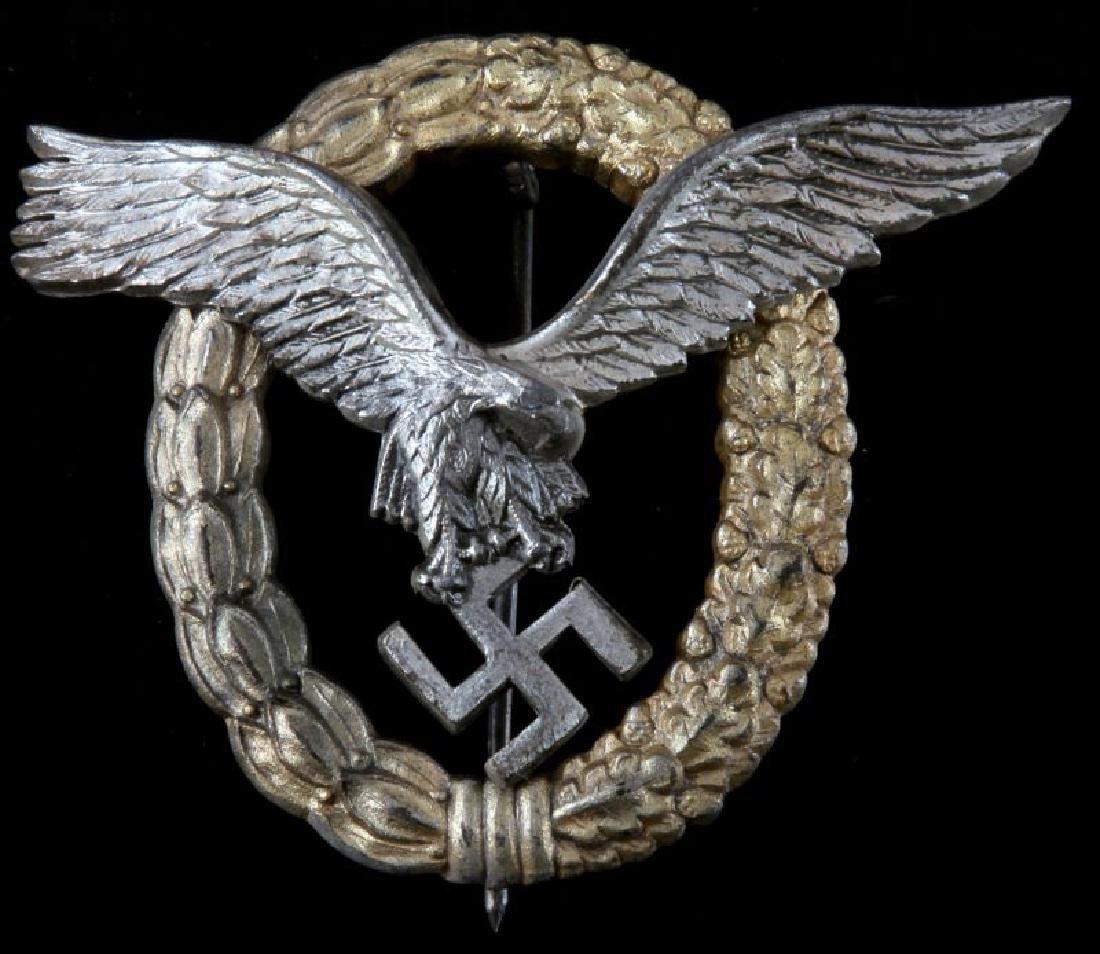 WWII GERMAN  LUFTWAFFE PILOT OBSERVER BADGE