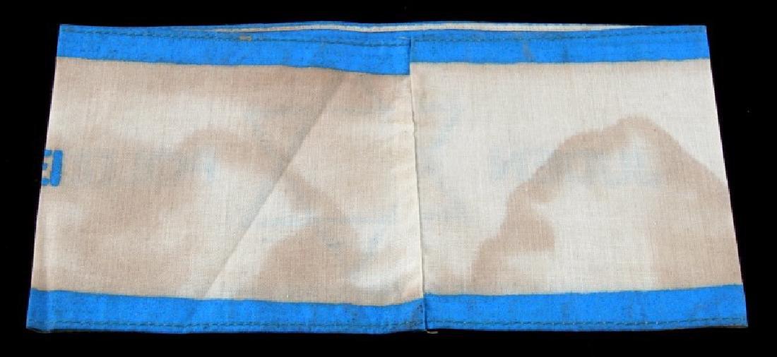 GERMAN WWII JUDEN POLIZEI ARM BAND BLUE WHITE - 2