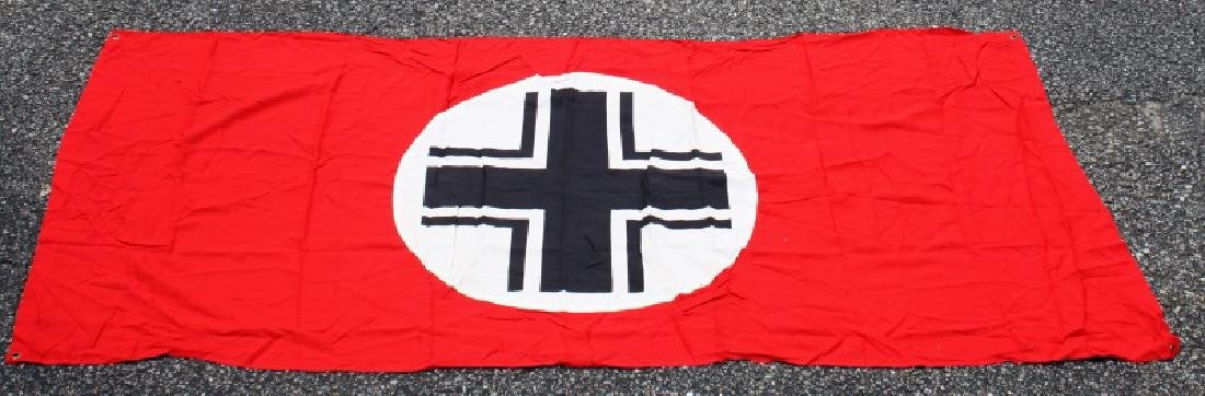 WWII GERMAN THIRD REICH BALKAN CROSS PARTY BANNER