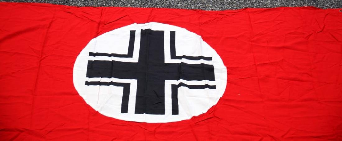 WWII GERMAN THIRD REICH BALKAN CROSS PARTY BANNER - 2