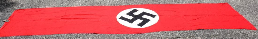 WWII THIRD REICH LARGE SYMBOL NSDAP PARTY BANNER - 4