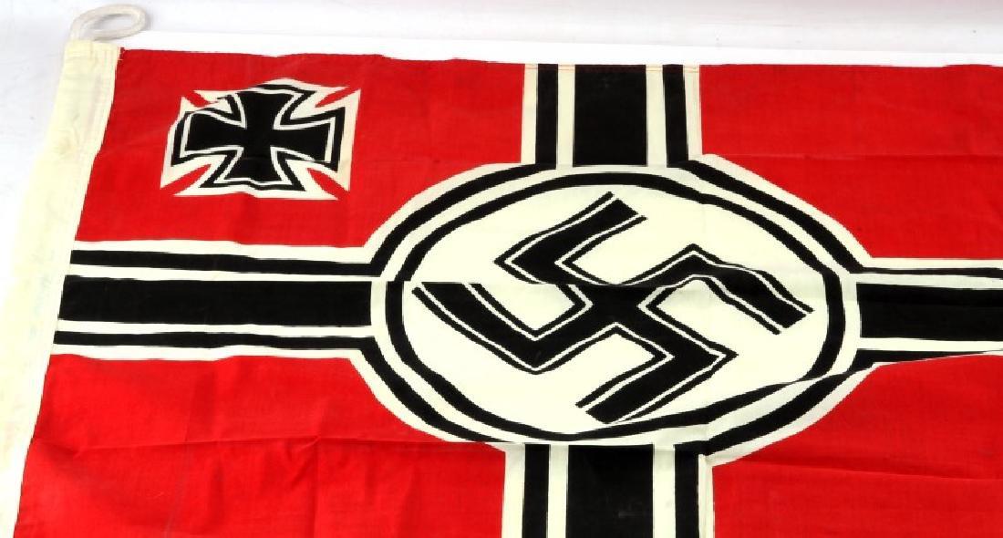 WWII GERMAN THIRD REICH REICHSKRIEGSFLAGGE FLAG - 2