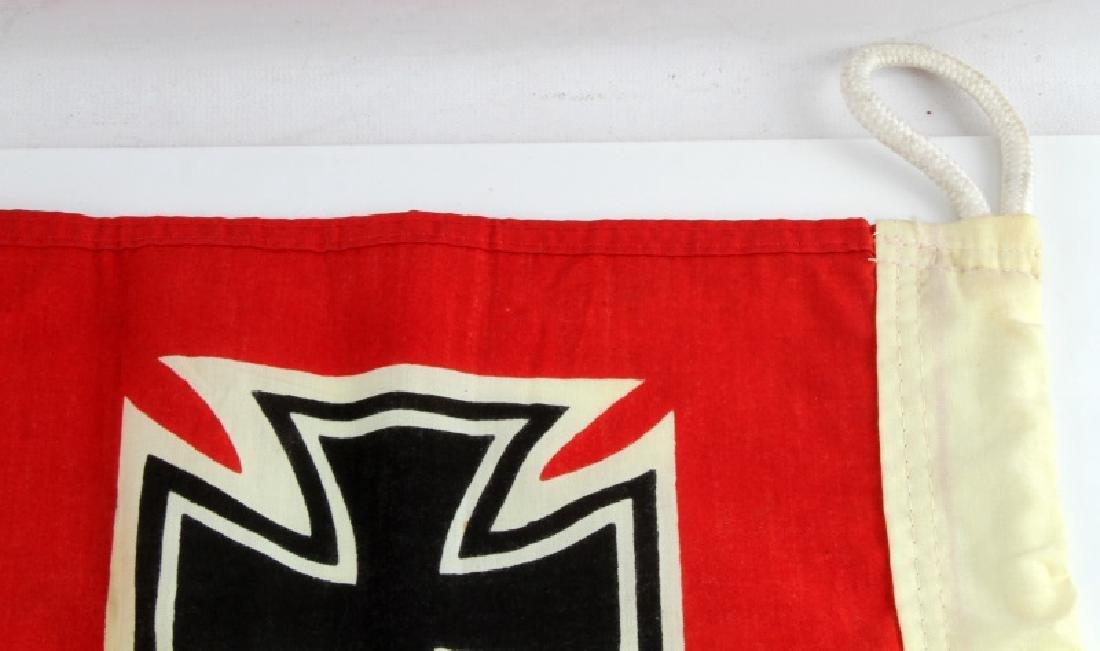 WWII GERMAN THIRD REICH REICHSKRIEGSFLAGGE FLAG - 4