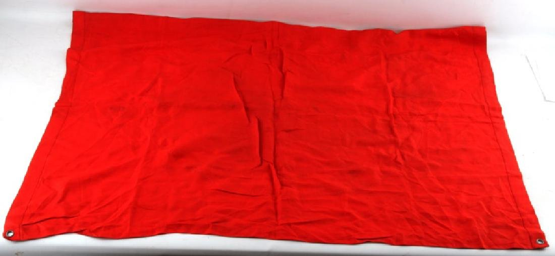WWII THIRD REICH CAPTURED FLAG FROM WOBLAM - 6