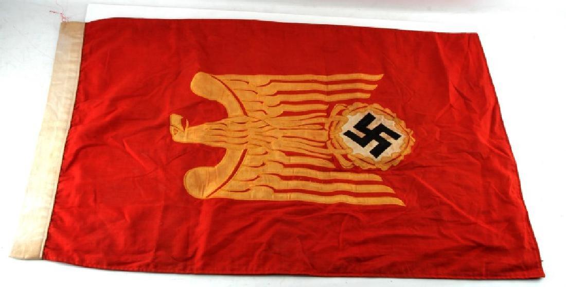 WWII GERMAN 3RD REICH SINGLE SIDED PODIUM BANNER
