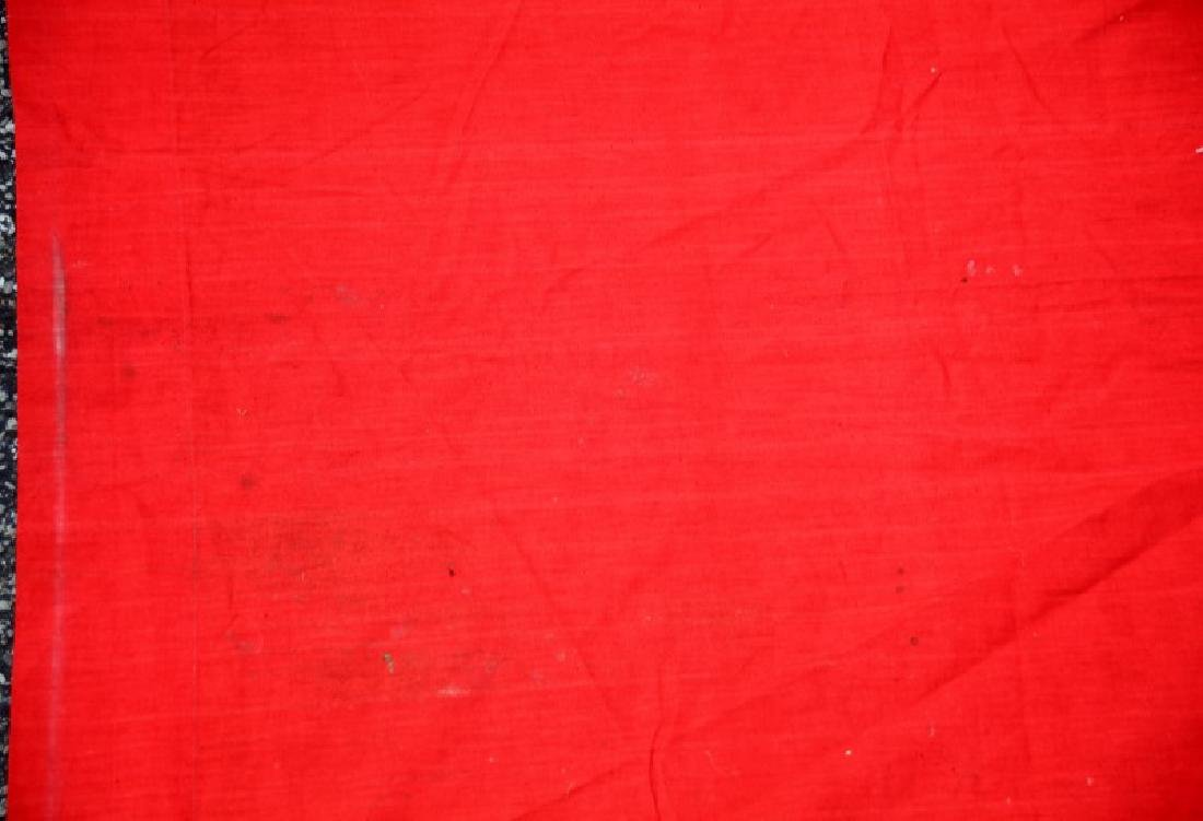 WWII GERMAN NSDAP MUNCHBERG 13 FT BANNER FLAG - 3