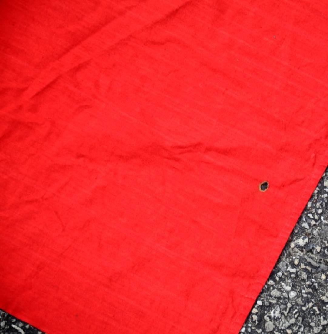 WWII GERMAN NSDAP MUNCHBERG 13 FT BANNER FLAG - 4