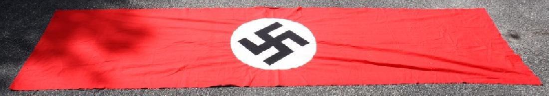 WWII GERMAN NSDAP MUNCHBERG 13 FT BANNER FLAG - 5