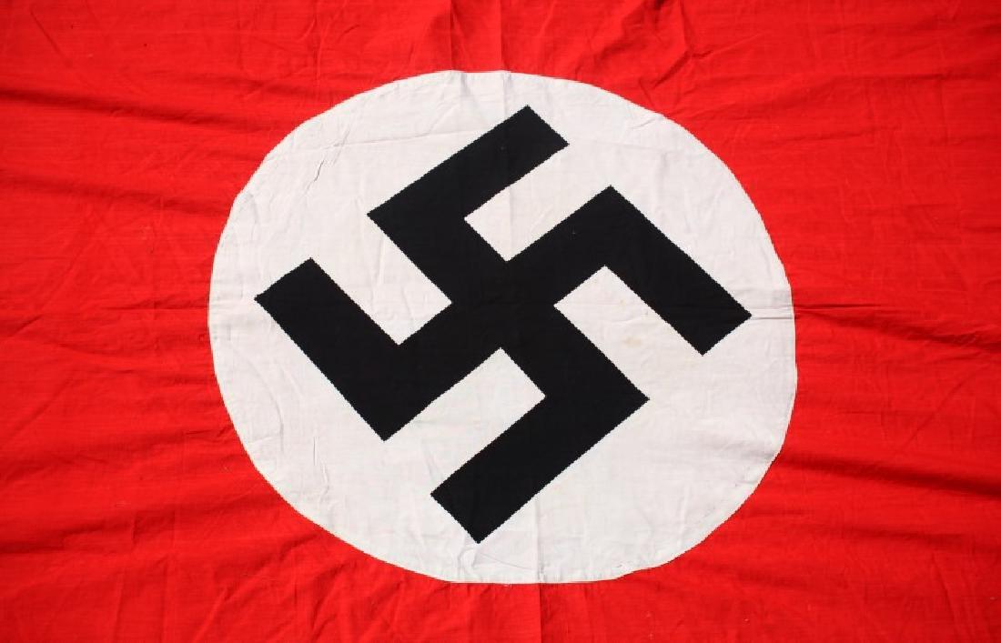 WWII GERMAN NSDAP MUNCHBERG 13 FT BANNER FLAG - 6