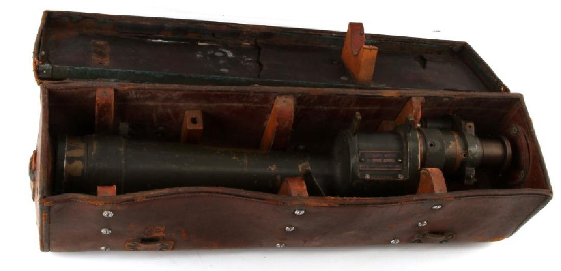 WWII US ARMY M1910A1 GURLEY TELESCOPE LEATHER CASE - 9