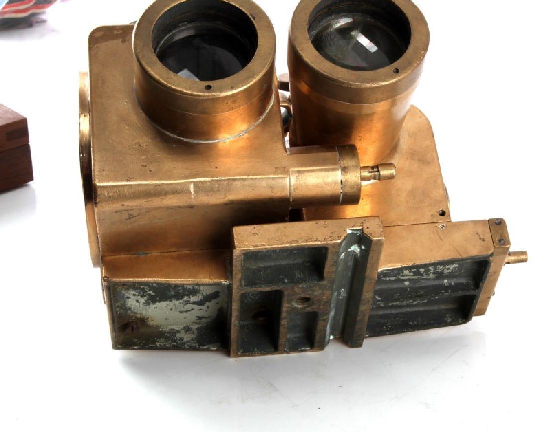 1935 SRPI PUTEAUX JUMELLE COUDEE 8X50 BINOCULARS - 4