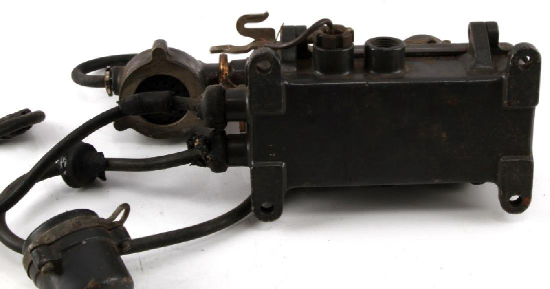 WWII JAPANESE NAVY SHIP SOUND POWERED TELEPHONE - 5