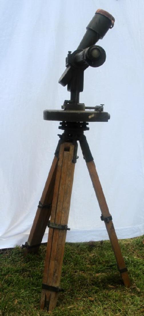 WWII U.S. ARMY INSTRUMENT OBSERVATION TELESCOPE