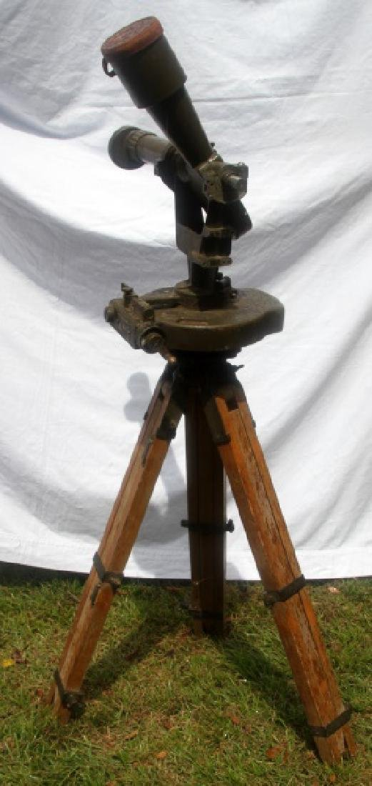 WWII U.S. ARMY INSTRUMENT OBSERVATION TELESCOPE - 3