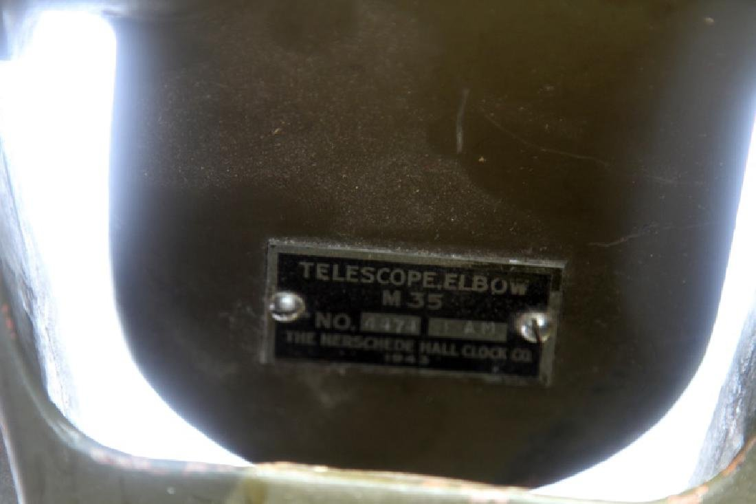 WWII U.S. ARMY INSTRUMENT OBSERVATION TELESCOPE - 5